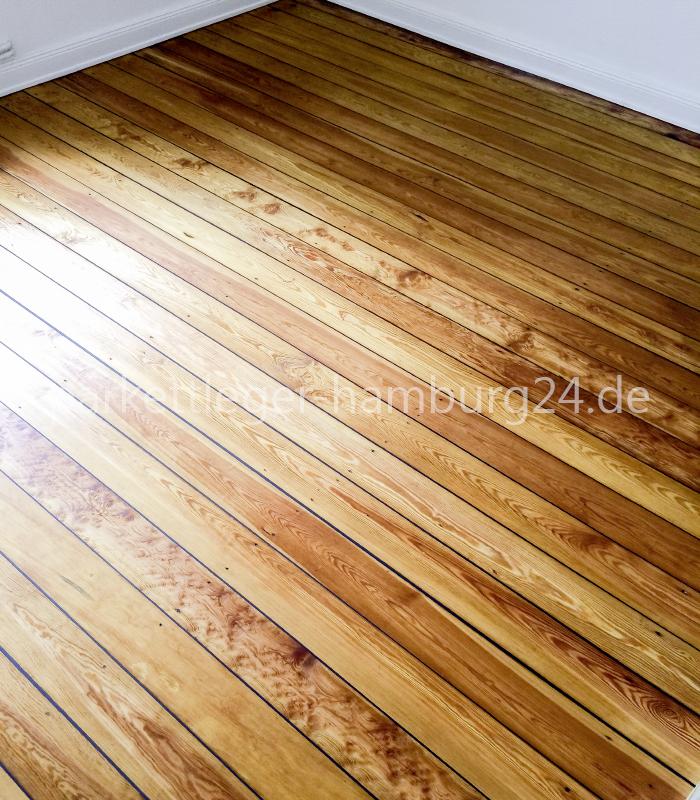 Turbo Pitch pine Dielen Restaurieren Hamburg | Massivholzdielen JZ02